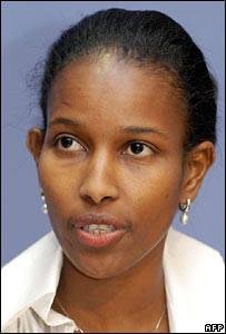 Ayaan Hirsi Ali, BBC photo