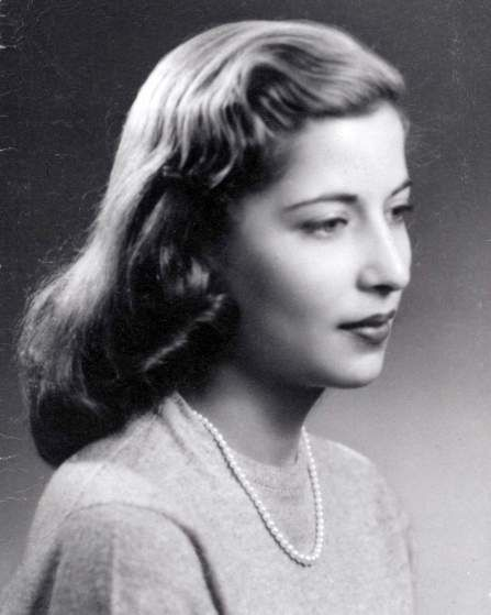 Ruth Bader Ginsburg when a young woman